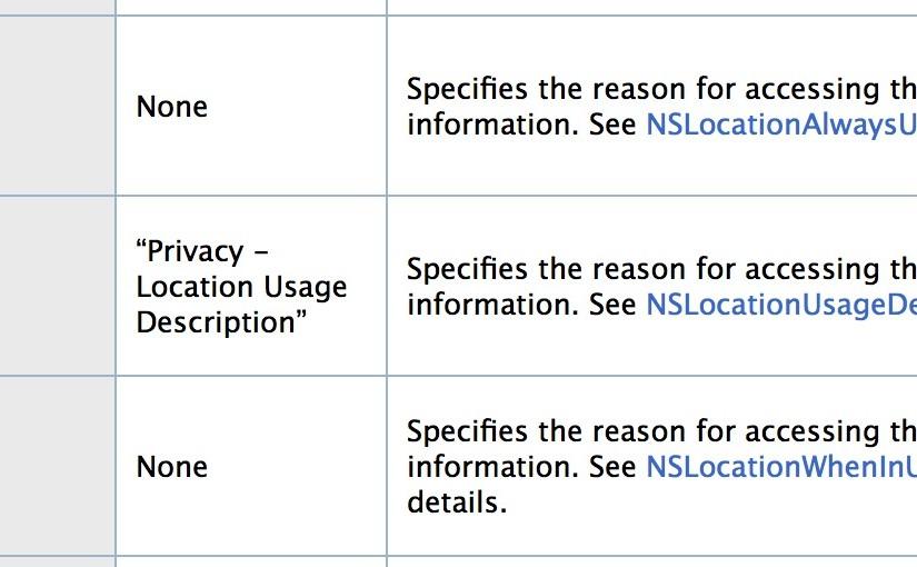 IOS开发:获取地理位置权限的方法(包含IOS8)